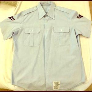 Air Force service short sleeved shirt